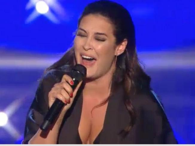 El look de Vicky Martín Berrocal como cantante en «Levántate All Stars»