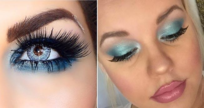 Tendencias maquillaje verano 2016 azul para los ojos