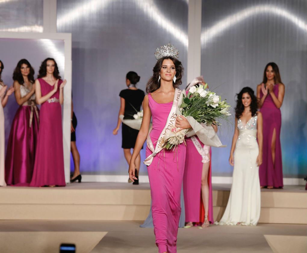 Candela Garrido es la nueva Miss World Sevilla 2016. Foto: Chema Soler