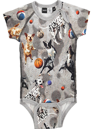 Body con print de animales de Molo Kids