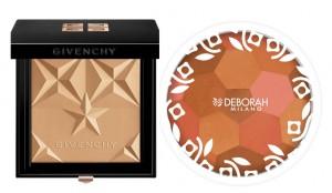 Polvos de sol de Givenchy y Deborah