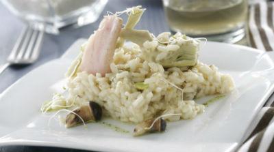 risotto-de-alcachofas-con-setas-