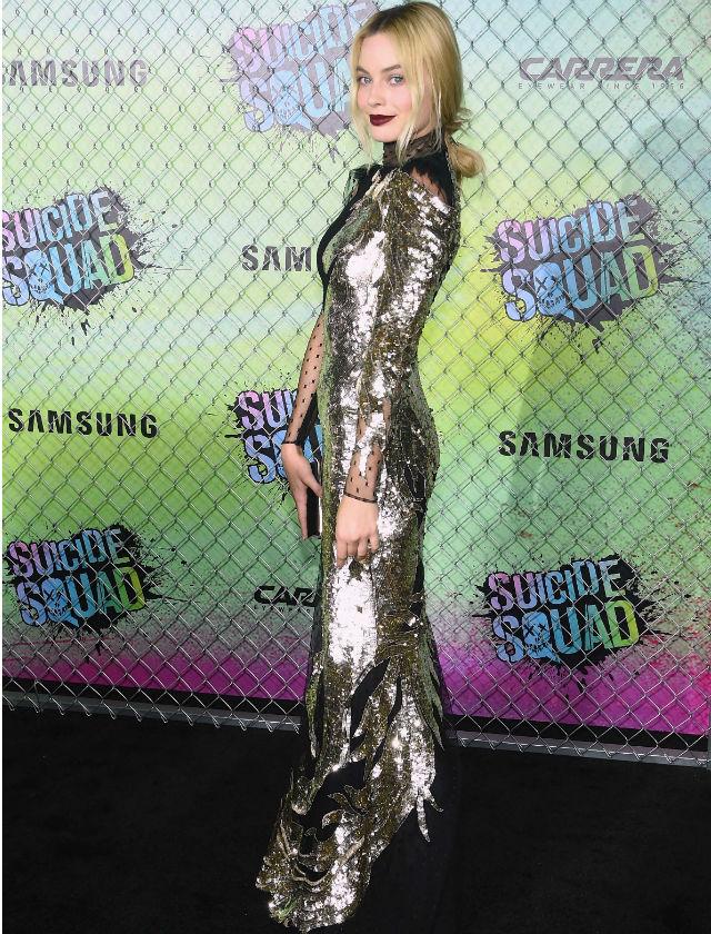 Copia el look de alfombra roja de Margot Robbie - Bulevar Sur