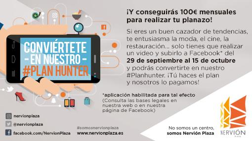 Conviértete en el Plan Hunter de Nervión Plaza
