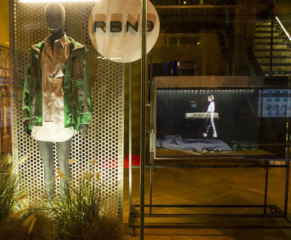 Espacio temporal de RBND en el hotel Las Letras de la Gran Vía de Madrid. Foto: ACME Pablo Paniagua