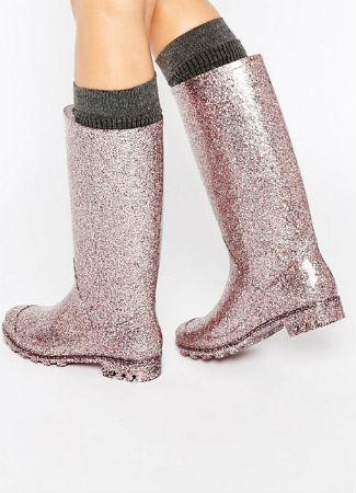Botas con glitter de Asos
