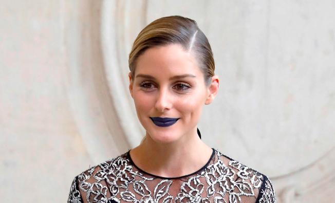 tendencias de maquillaje otoño invierno 2016-2017: labios oscuros