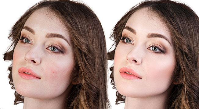 maquillaje cubriente vs maquillaje ligero
