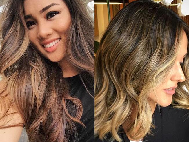 Tendencias para el cabello otoño,invierno 2016,2017 balayage