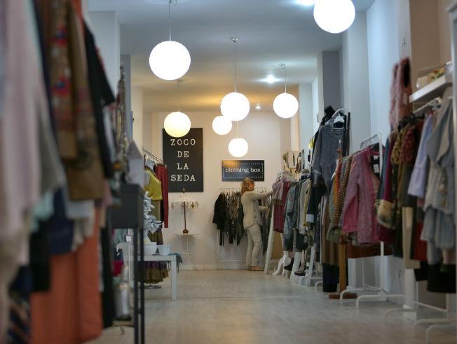 Tienda de Sevilla El zoco de la seda