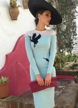 Eva González, el estilo de la invitada perfecta