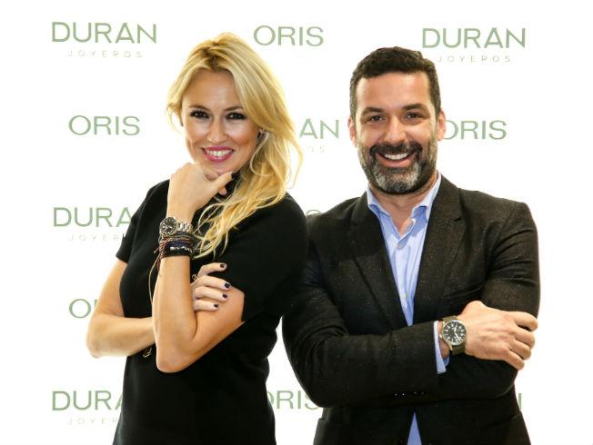 Carolina Cerezuela y Jaime Anglada presentan los relojes ORIS en Sevilla
