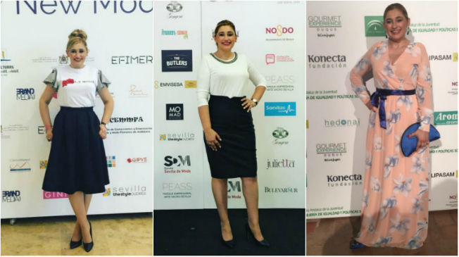 Looks de My Pink World en eventos y desfiles de Sevilla