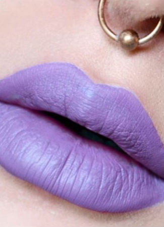 Labios color malva