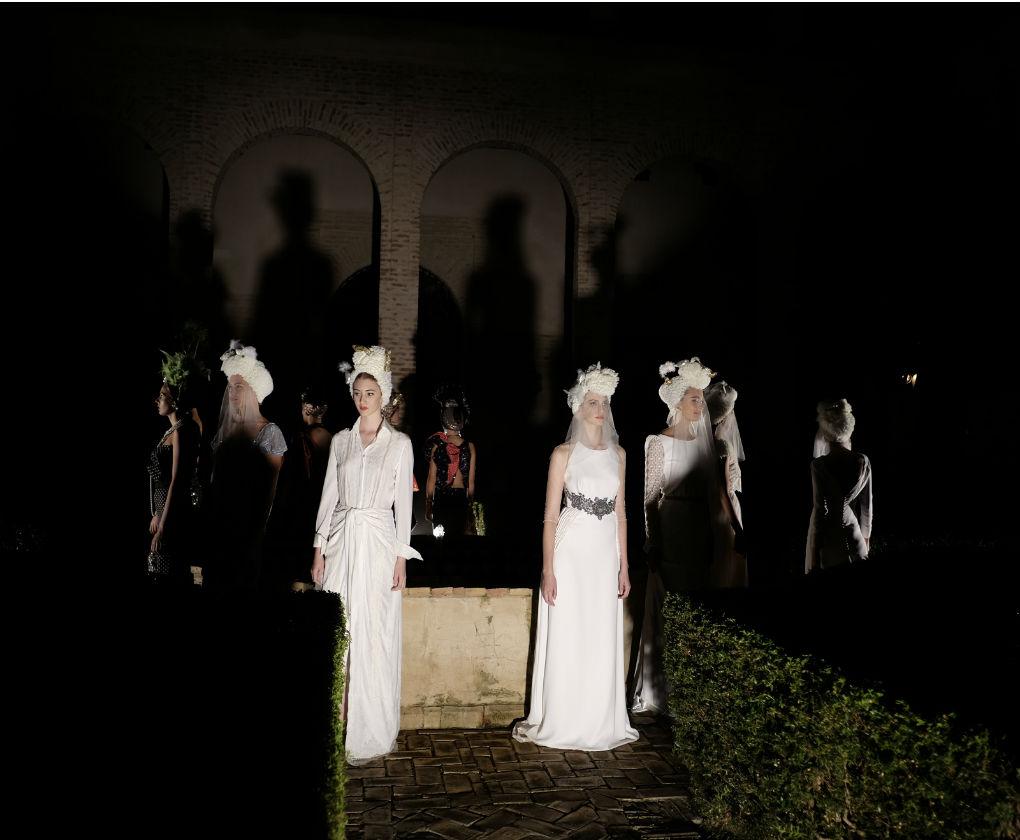 Desfile de la colección de novias de Panambi. Foto: Chema Soler