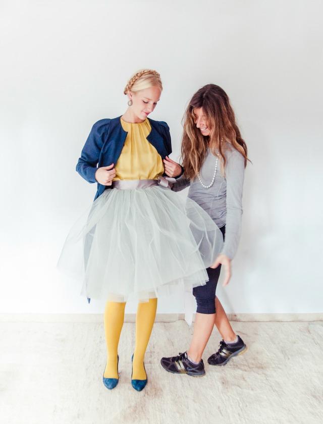 Faldas de tul de Violetaandco