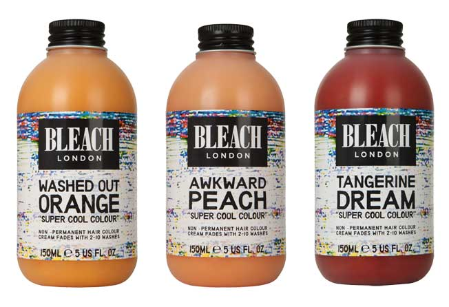 Champú coloración Bleach London «blorange»
