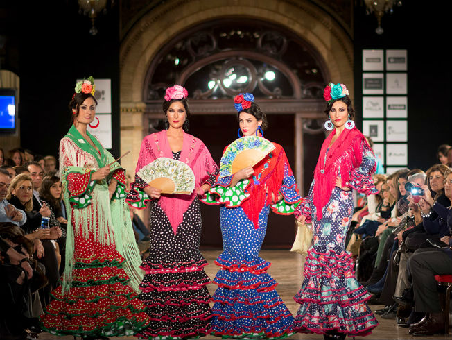 We Love Flamenco 2016. Desfile de Fabiola