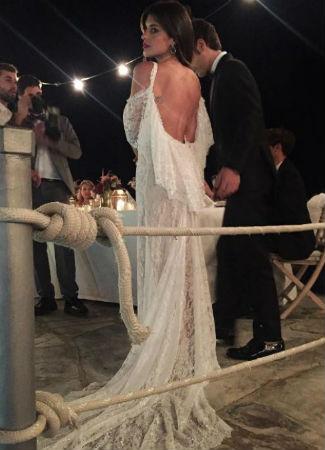 Los vestidos de las novias famosas del 2016 - Bulevar Sur 97d2efcf754b