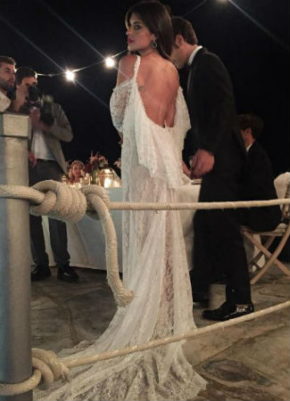 Mejores vestidos novia famosas