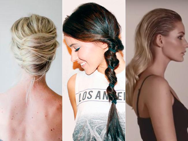 Cinco peinados express para fin de año