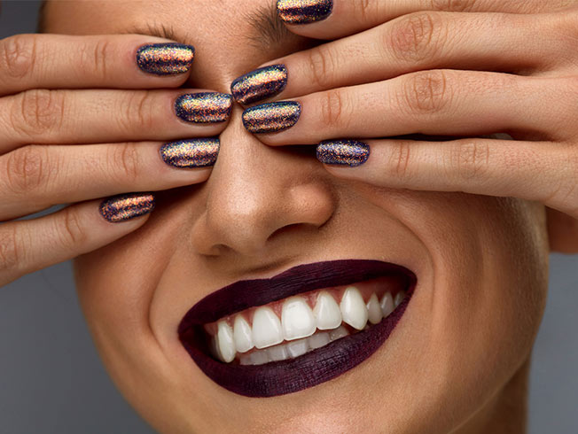 Ideas de maquillaje con purpurina para estas navidades 2016