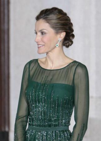 Peinado de la Reina Letizia. Foto: G3online