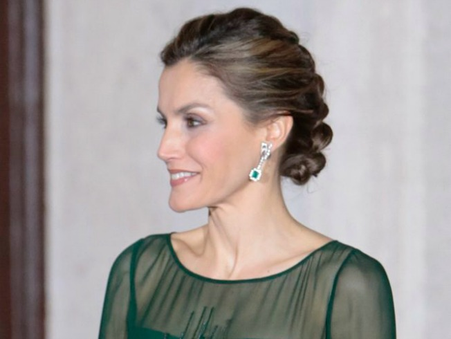 Queen of Spain, Letizia at the Palace of Needs in Lisbon on Tuesday 29 November 2016.