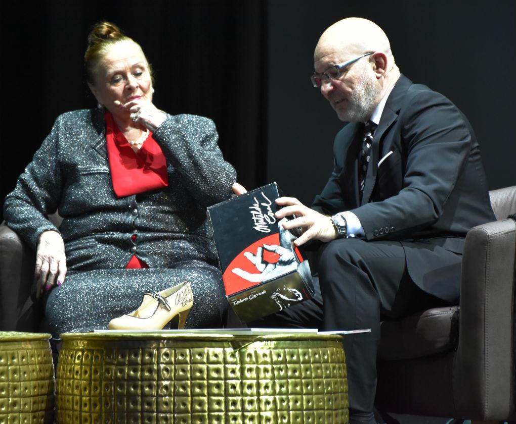 Gala de presentación de la línea de zapatos de baile de Matilde Coral de la firma Roberto Garrudo. Foto: Marcos Álvarez