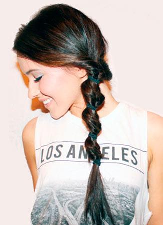 Peinados express: trenza loop