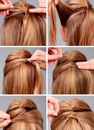 Cinco Peinados Express Para Fin De Ano Bulevar Sur - Recogidos-sencillos-paso-a-paso