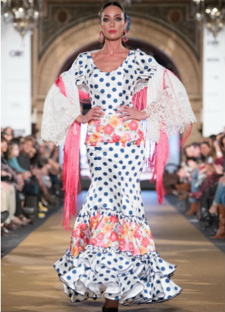 ef14d3bfc Estas son las tendencias de moda flamenca 2017 - Bulevar Sur