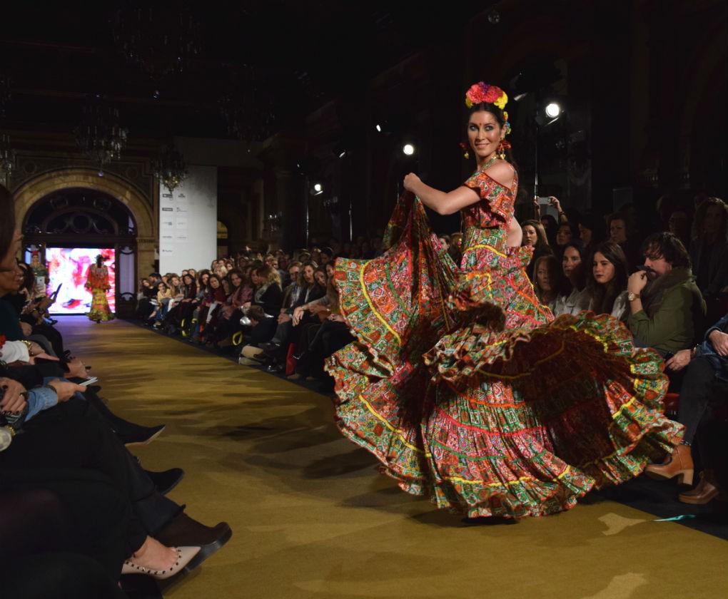 Desfile de Flamenca Pol Núñez en We Love Flamenco 2017- Foto: Rocío Ponce