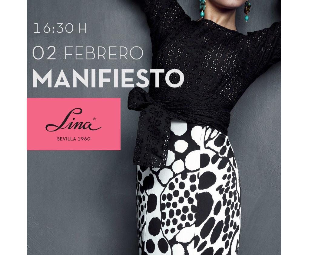 La nueva colección de moda flamenca de Lina se llamará Manifiesto y desfilará el día 2 de febrero en SImof 2017