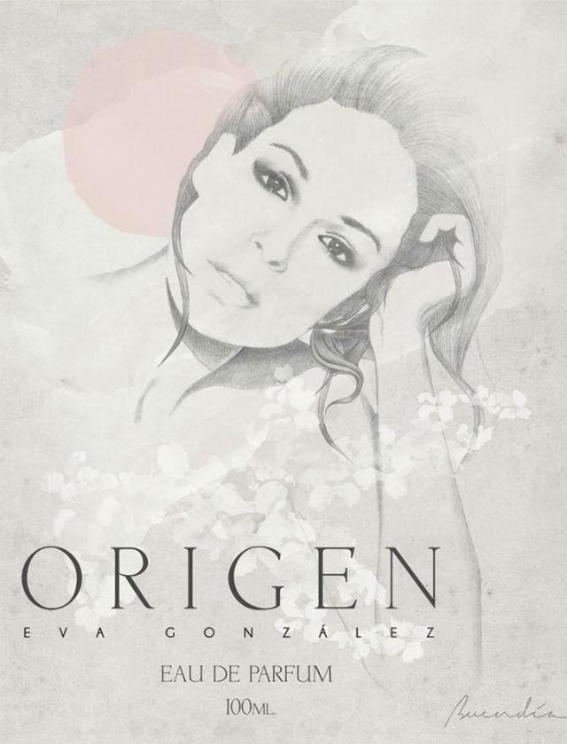 Ilustración de Carlos Buendía para el perfume Origen de Eva González