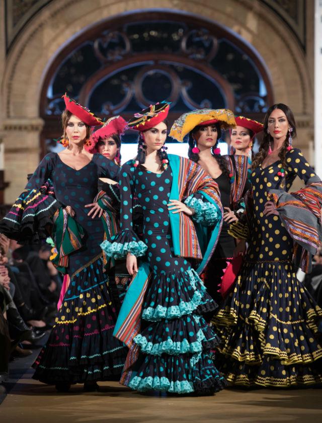 Desfile de Rocío Peralta en We Love Flamenco 2017. Foto: Aníbal González