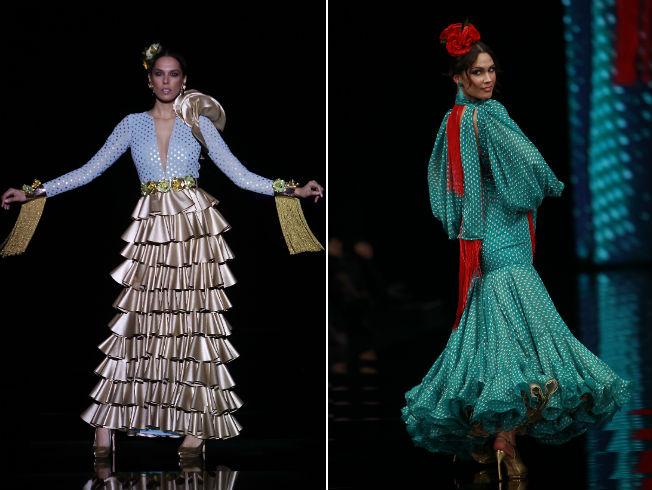 Estas son las tendencias de moda flamenca 2017 bulevar sur - Telas de flamenca online ...