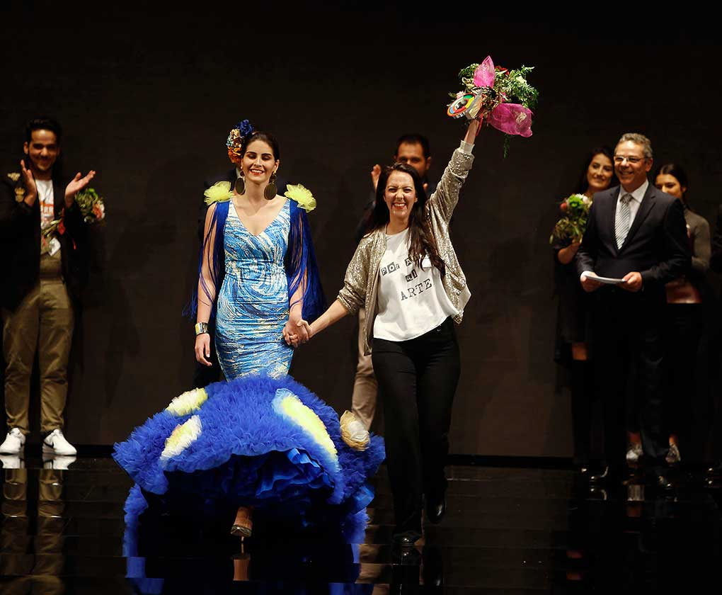 Ángeles Gálvez, premio al diseñador revelación 2017