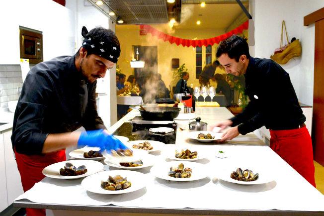 Cena de San Valentín en KÖK tu cocina en Sevilla