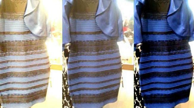 Vestido viral que cambia de color
