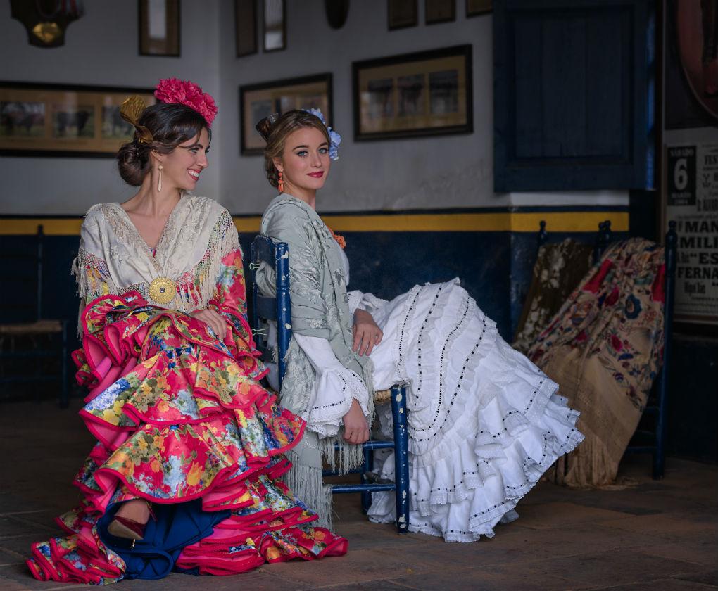 Primera colección de moda flamenca 2017 de la firma Mi Abril, de Lourdes Montes y Rocío Terry