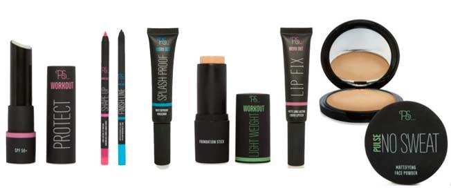 Maquillaje para deportistas Primark