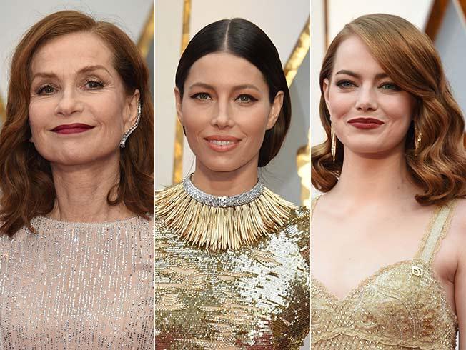Los mejores «looks» de belleza de los Oscar 2017