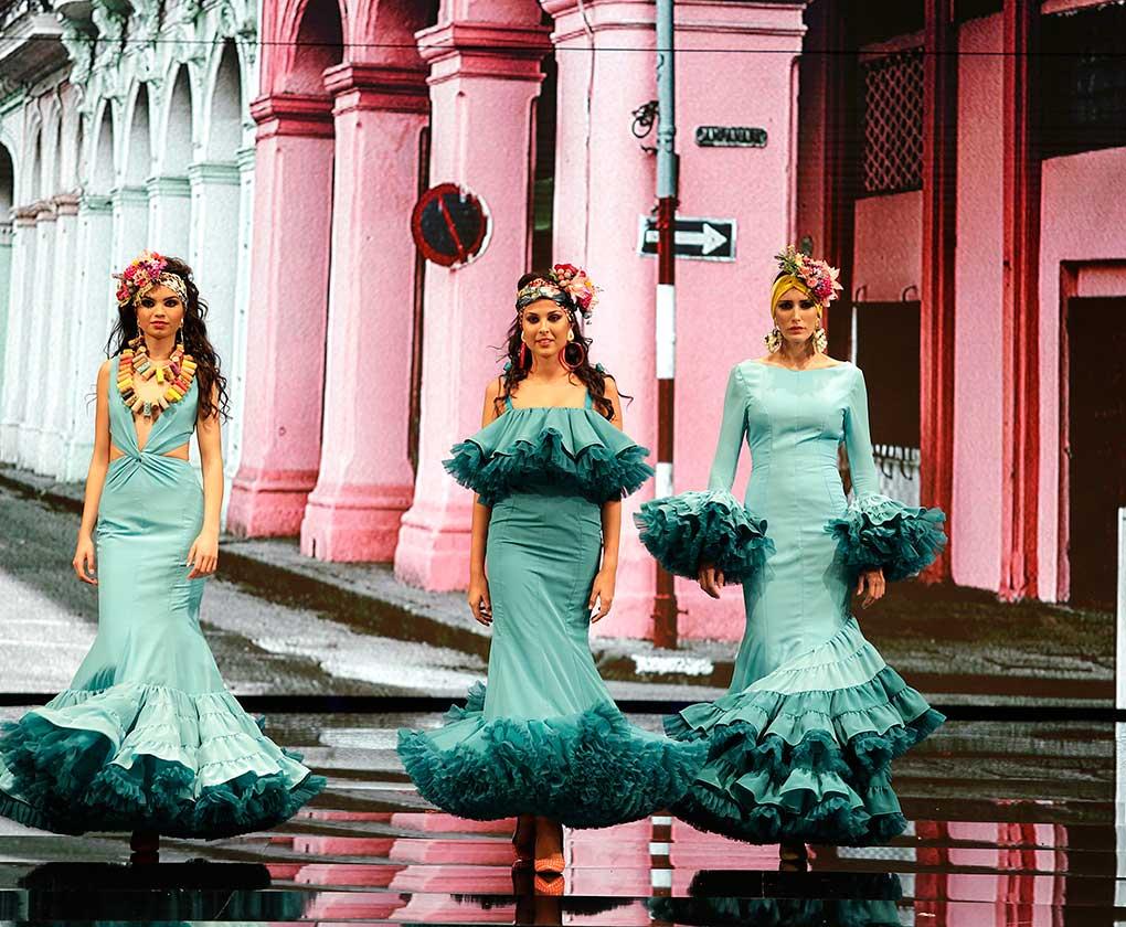 «Pura Vida» se inspira en la preciosa y bella isla de Cuba, en su luz, sus ritmos y la alegría y forma de vivir de sus gentes (J. M. Serrano / Vanessa Gómez)