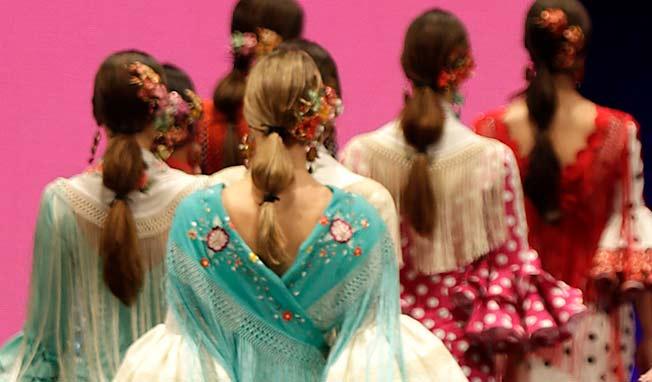 Peinados desfile Lina Simof 2017