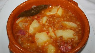 potaje-lentejas-arroz