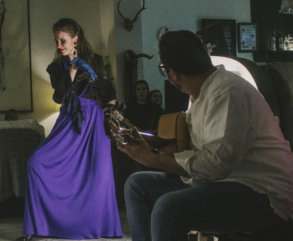 Blutage, firma de moda vintage, se presentó en Sevilla con un desfile muy especial