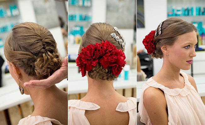 cómo poner las flores para el traje de flamenca en 2017 - bulevar sur