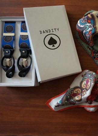 Regalo de complementos para el día del padre de la firma Dandity