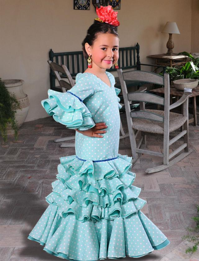 Moda flamenca infantil  el reto de vestir a niños 806d1b8bd232